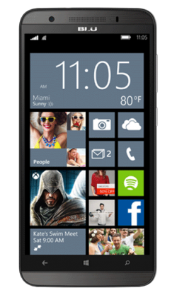 Blu Win HD LTE Gray - Phone